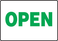 madm540 Open Sign Green White