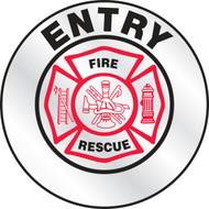 Entry Emergency Response Helmet Sticker