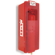 Fire Extinguisher Cabinet Mark II- Red Tub- Indoor- Outdoor
