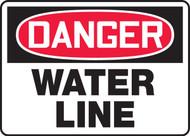 Danger - Water Line