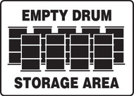 Empty Drum Storage Area