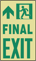 Final Exit Sign Glow Sign