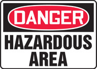 Danger - Hazardous Area