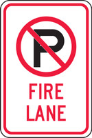 (no Parking Symbol) Fire Lane