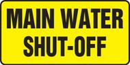 Main Water Shut Off - Dura-Plastic - 7'' X 14''