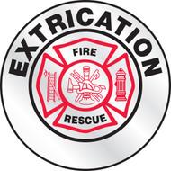 Extrication Reflective Emergency Response Helmet Sticker