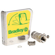 Bradley S30-070 Eyewash Handle Kit Stainless Steel