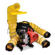 """Allegro 9520-05M 8"""" Gas Centrifugal Blower System w/ 8"""" MVP (9505 Blower - Briggs & Stratton)"""