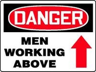 Danger Men Working Above 1