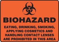 Biohazard Eating, Drinking, Smoking, Applying Cosmetics