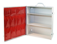 Empty First Aid Kit- 3 Shelf with door pockets