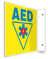 AED Sign- 3D