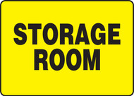 "Storage Room Sign 10"" x 14"""