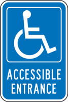 Accessible Entrance (w/graphic)