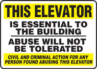 This Elevator Is Essential To The Building Abuse  ...