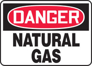 Danger - Natural Gas