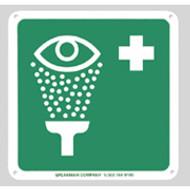Emergency Eyewash Sign by Speakman