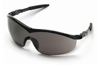 Crews Safety Glasses- Storm Black Frame/ Gray Lens (12 Pair)