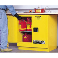 Justrite Undercounter Safety Cabinet 22 gal 892320