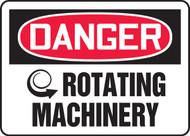 Danger - Rotating Machinery