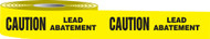 Caution Lead Abatement Barricade Tape