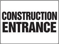 construction entrance sign MADM500VP