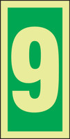Number 9 IMO Sign