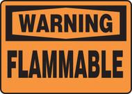 Warning - Flammable