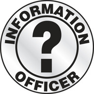 Information Officer Emergency Response Helmet Sticker