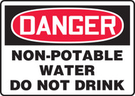 Danger - Non-Potable Water Do Not Drink