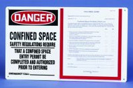 Danger Confined Space Safety Regulations Require...