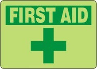 First Aid Sign 9