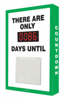 Countdown Digi Day Plus Safety Scoreboard- There Are Only #### Days