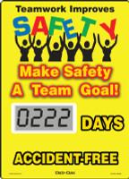 SCL212 Mini Digi Day Safety Scoreboard