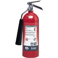 Carbon Dioxide Fire Extinguisher-  Badger 5 lb- with wall hook