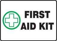 First Aid Kit - Adhesive Dura-Vinyl - 7'' X 10''