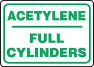 Acetylene Full Cylinders - Dura-Fiberglass - 10'' X 14''