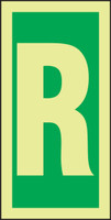 Letter R IMO Character