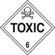 Toxic Hazard - Plastic - 6''