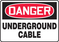 Danger - Underground Cable