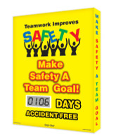 Digi Day Lite Electronic Safety Scoreboard SCJ106