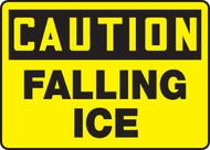 Caution - Falling Ice