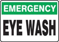 Emergency Eye Wash - Aluma-Lite - 7'' X 10''
