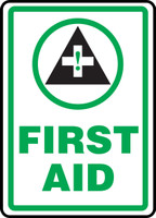 First Aid Sign Sign