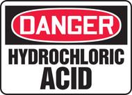 Danger - Hydrochloric Acid