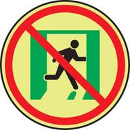 Not An Exit Symbol