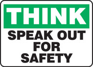 Think - Speak Out For Safety
