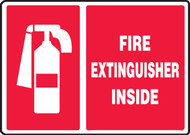 MFXG907VP Fire Extinguisher Inside Sign