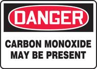 Danger - Carbon Monoxide May Be Present