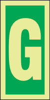 Letter G IMO Sign